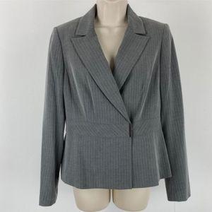 Calvin Klein | Pinstripe Tailored Blazer